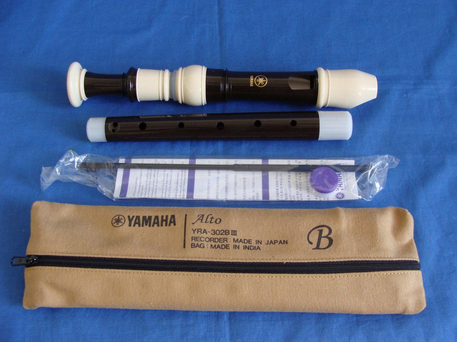 Yamaha YRA-302B Treble Recorder